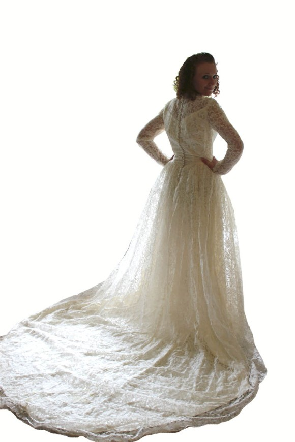 1953 Wedding Dress 1