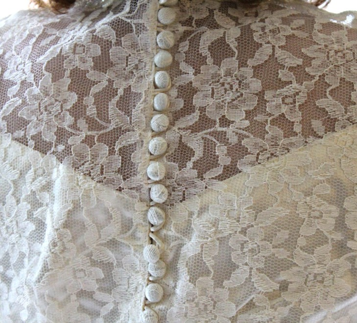 1953 Wedding Dress 2