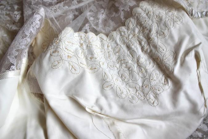 1953 Wedding Dress 5
