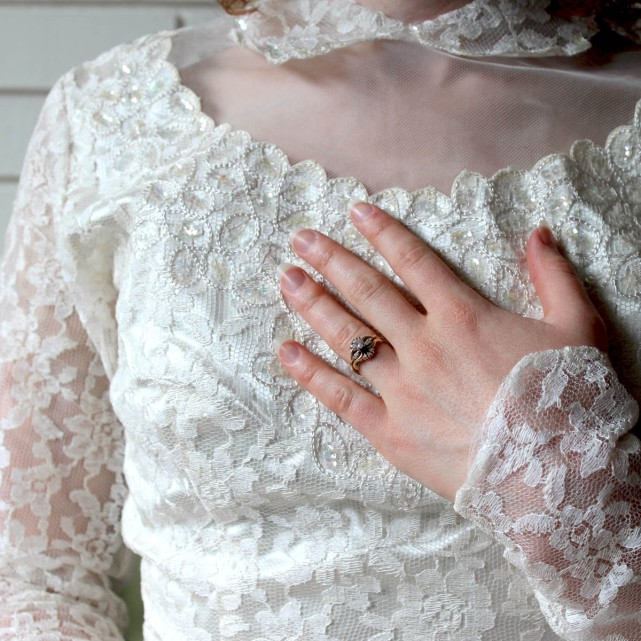 1953 Wedding Dress 6