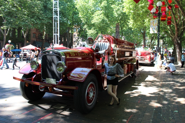 100th anniversary for this lovely 1913 fire truck