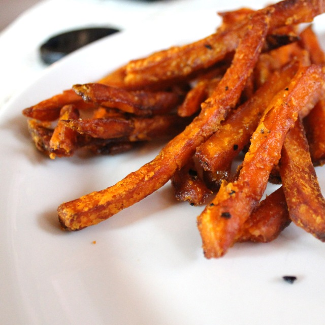 My ever favorite: Sweet Potato Fries