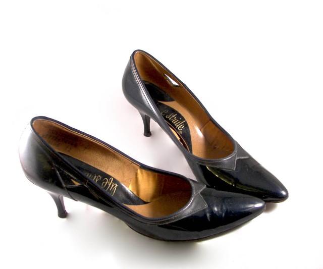 50s Lifestride Black Heels 1