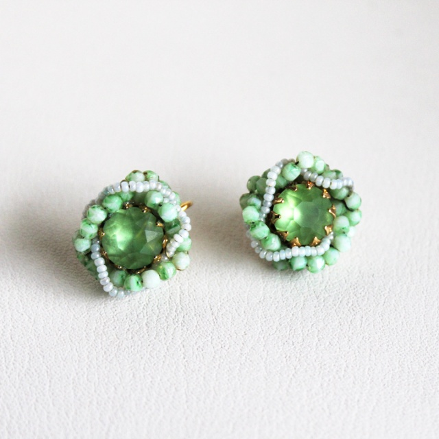 Peridot Green Earrings 1